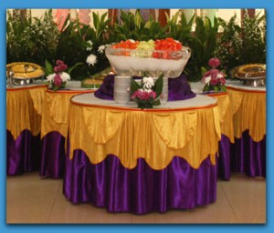 Table skirting duta anugrah for Different types of tables in html